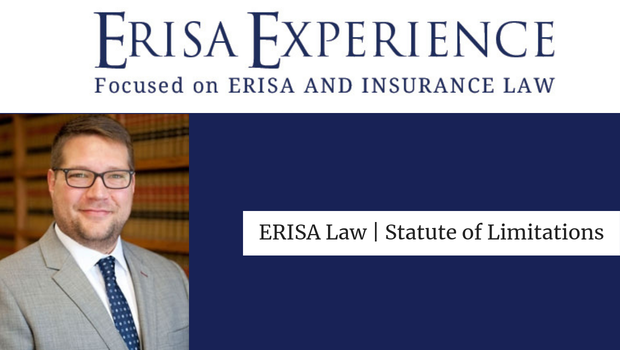 ERISA Law | Statute of Limitations