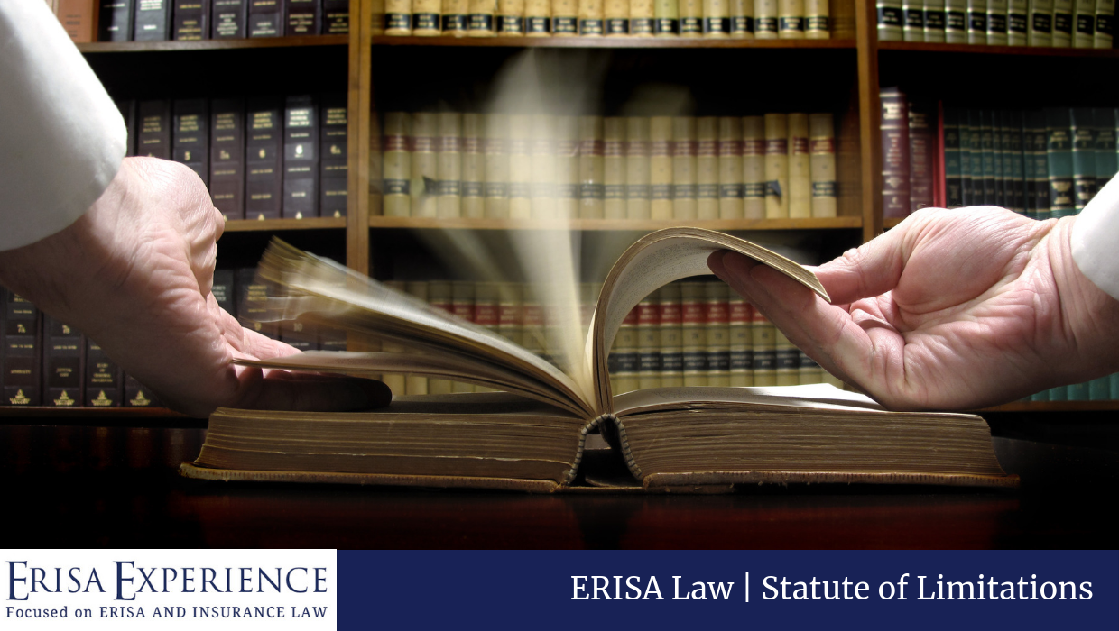 Statute of Limitations in ERISA Cases